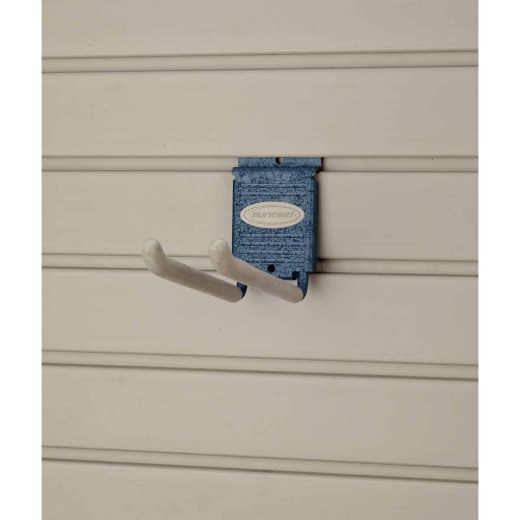 Suncast 4 In. Slatwall Double Hook