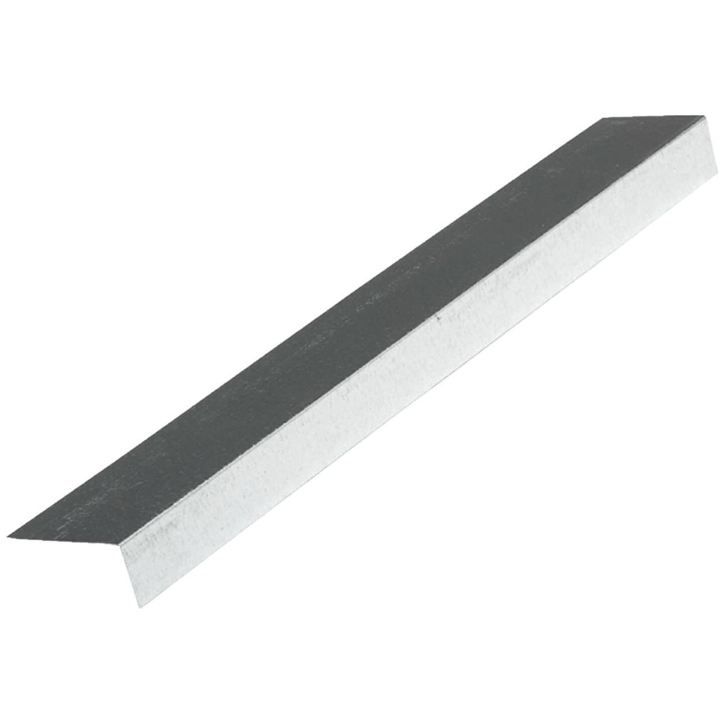 NorWesco A 1-1/2 In. X 1-1/2 In. Galvanized Steel Roof & Drip Edge Flashing Image 1