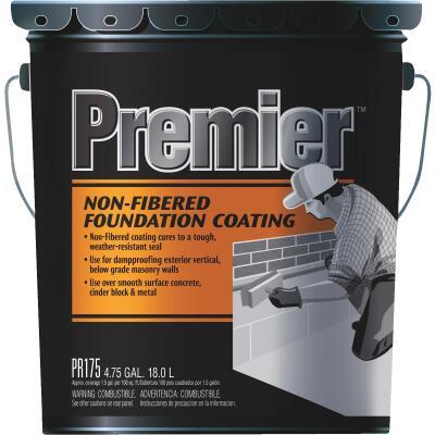 Premier 175 5 Gal. Non-Fibered Foundation Coating
