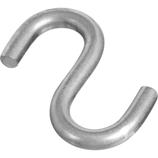 National 1-1/2 In. Stainless Steel Heavy Open S Hook (2 Ct.)