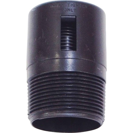 United States Hardware 1-7/8 In. MPT ABS Vent Valve