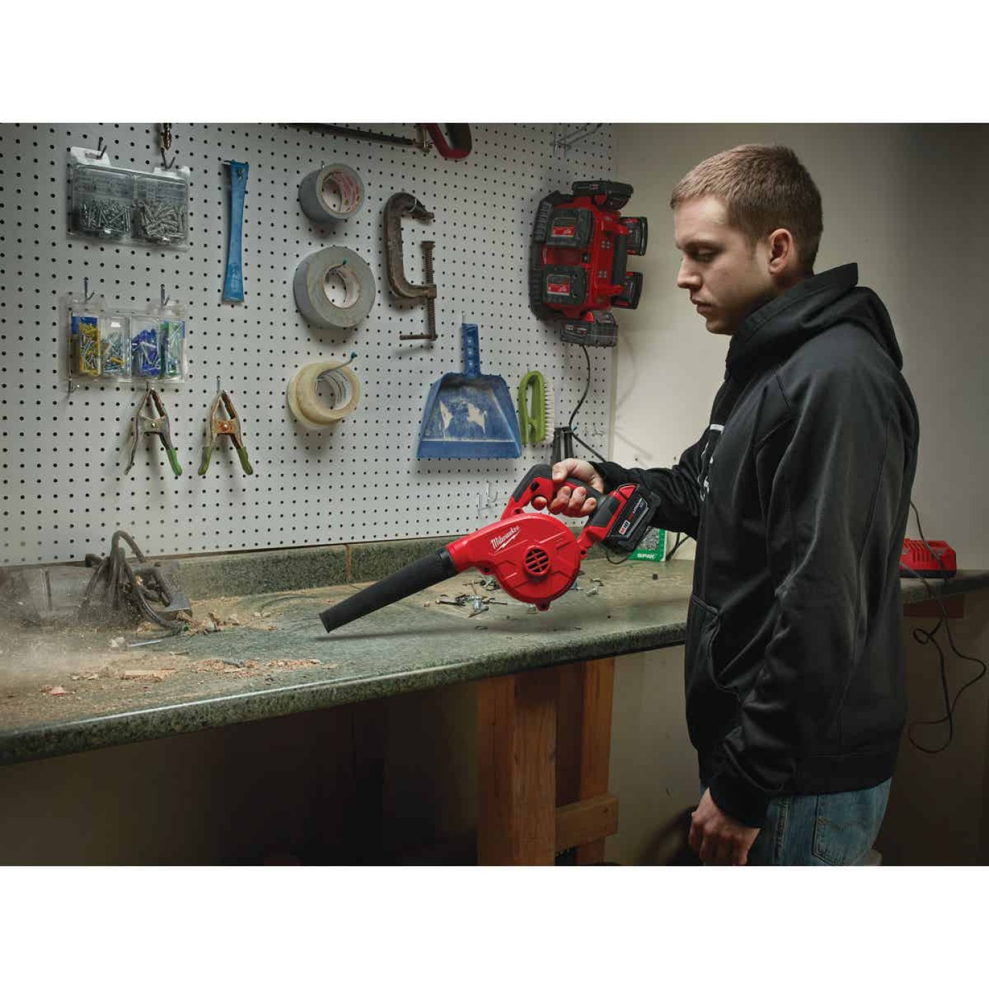 Milwaukee M18 160 MPH 18V Compact Lithium-Ion Cordless Blower (Bare Tool) Image 4