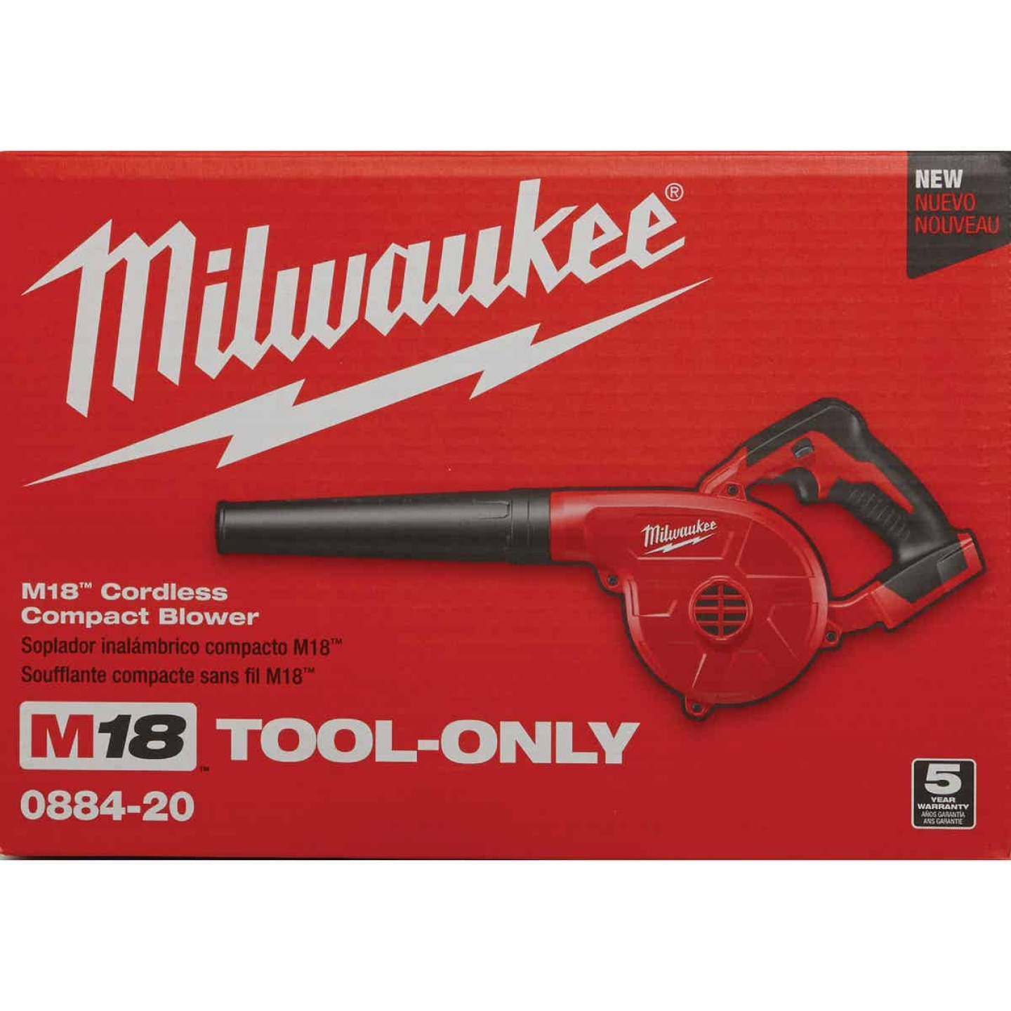 Milwaukee M18 160 MPH 18V Compact Lithium-Ion Cordless Blower (Bare Tool) Image 5