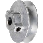 Chicago Die Casting 3 In. x 1/2 In. Single Groove Pulley Image 1