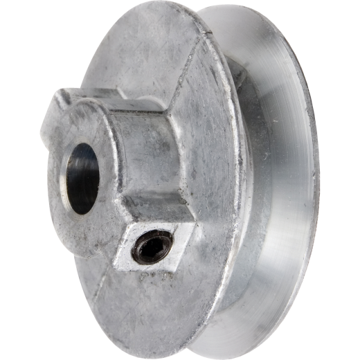 Chicago Die Casting 3-1/2 In. x 3/4 In. Single Groove Pulley