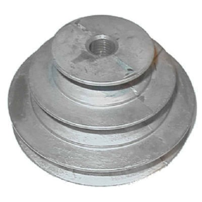 Chicago Die Casting 1/2 In. 3-Step Cone Pulley
