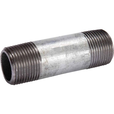 Southland 2 In. x 4-1/2 In. Welded Steel Standard Galvanized Nipple