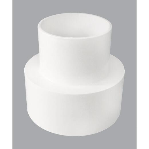 IPEX 6 In. x 4 In. PVC Sewer and Drain Coupling
