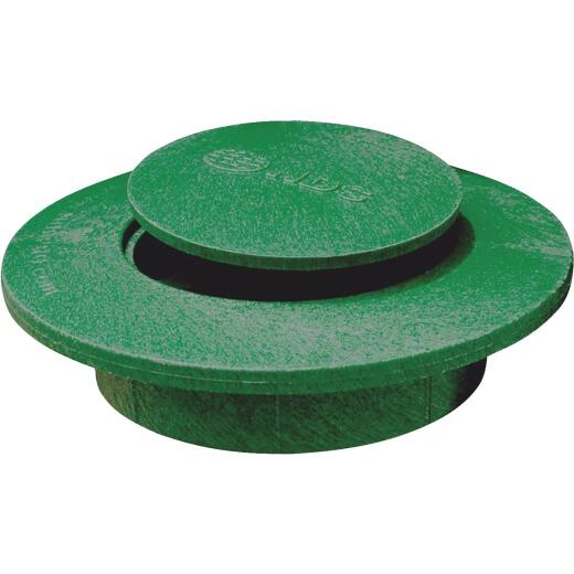 NDS 3 In. or 4 In. Green Plastic Replacement Emitter Lid
