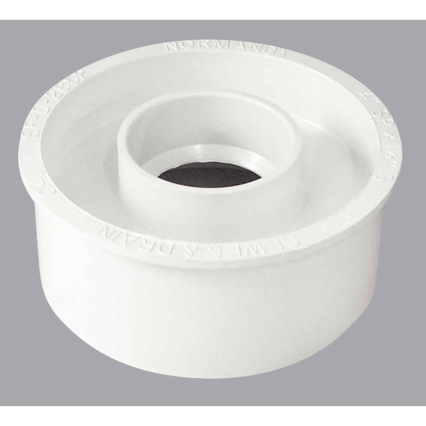 IPEX Canplas Schedule 40 4 In. to 1-1/2 In. PVC Sewer and Drain Bushing Image 1