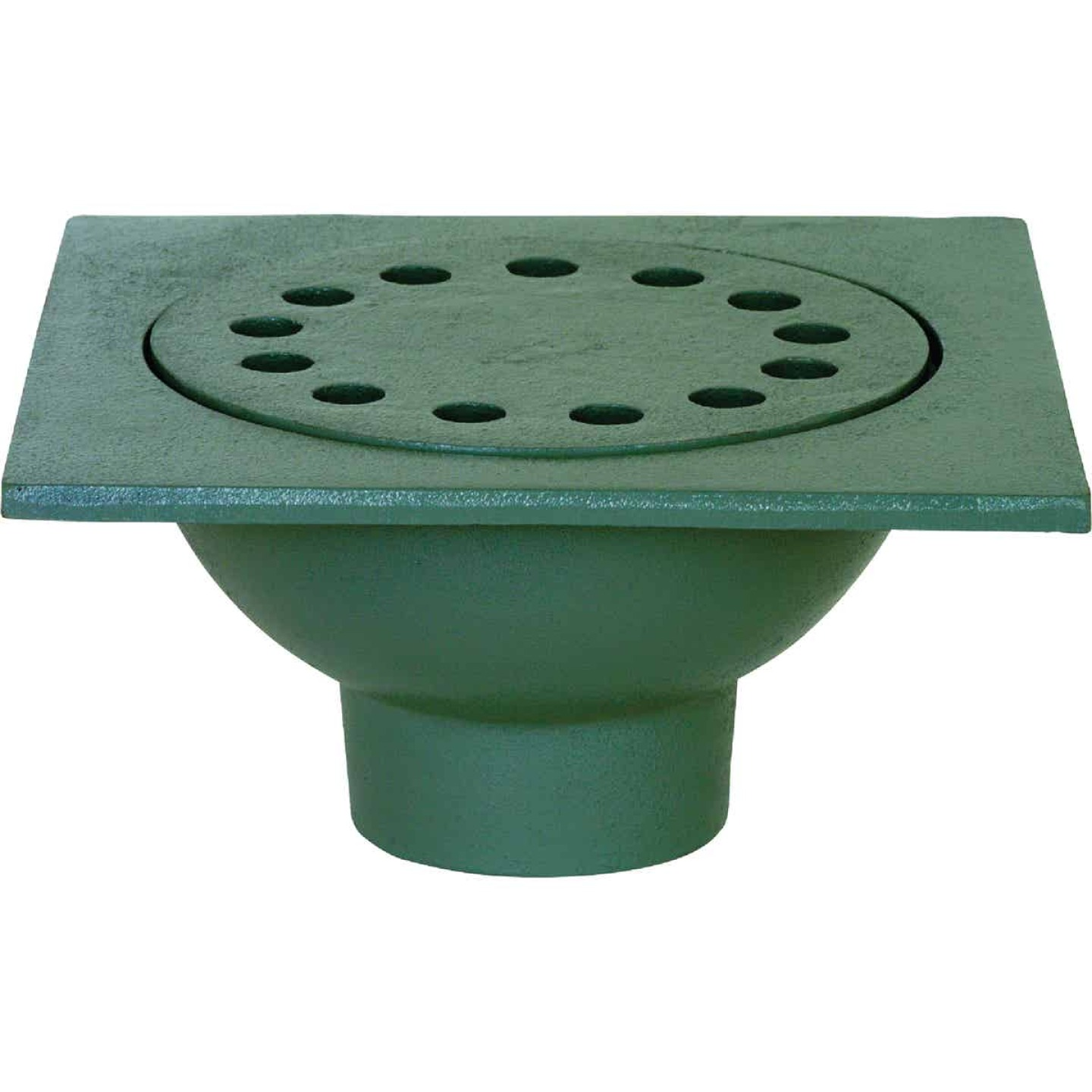 Sioux Chief Bell 9 In. Cast Iron Sewer and Drain Bell Trap Image 1