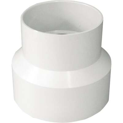 IPEX Canplas 4 In. x 3 In. PVC Sewer and Drain Coupling