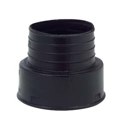 Advanced Basement 4 In. Polyethylene Corrugated Adapter
