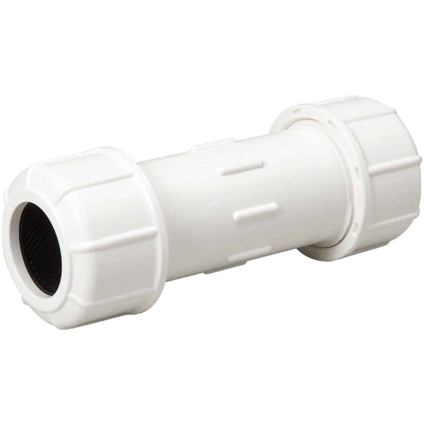 B & K 1-1/4 In. X 6 In. Compression PVC Coupling  Image 1