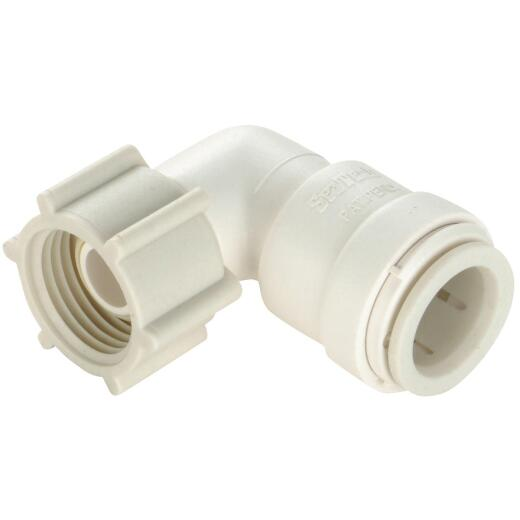 Watts 1/2 In. CTS x 3/4 In. FPT Quick Connect Plastic Elbow