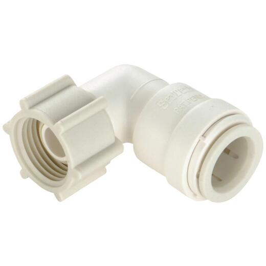 Watts 1/2 In. CTS x 7/8 In. BC Quick Connect Plastic Elbow