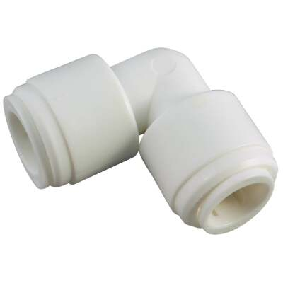Anderson Metals 3/8 In. x 3/8 In. Push-in Plastic Elbow