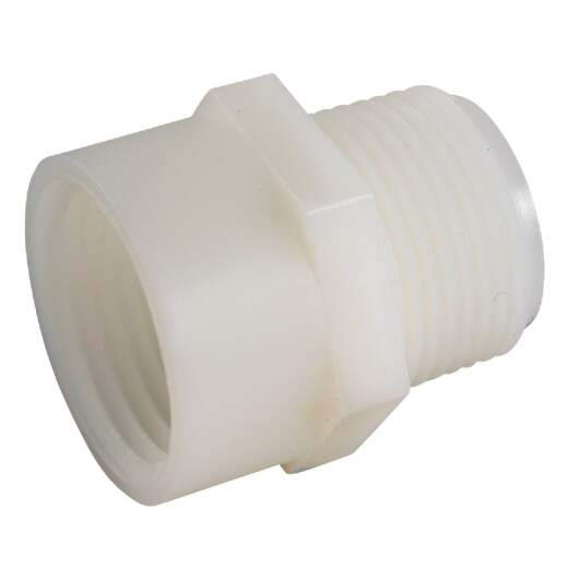 Anderson Metals 3/4 In. FGH x 3/4 In. MIP Nylon Hose Adapter