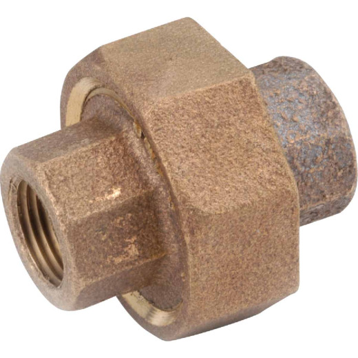 Anderson Metals 1/8 In. Red Brass Threaded Union