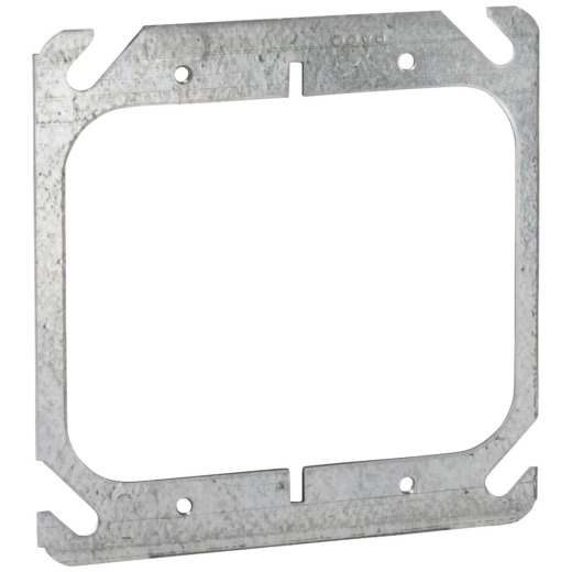 Raco Flat 2-Device Combination 4 In. x 4 In. Square Device Cover