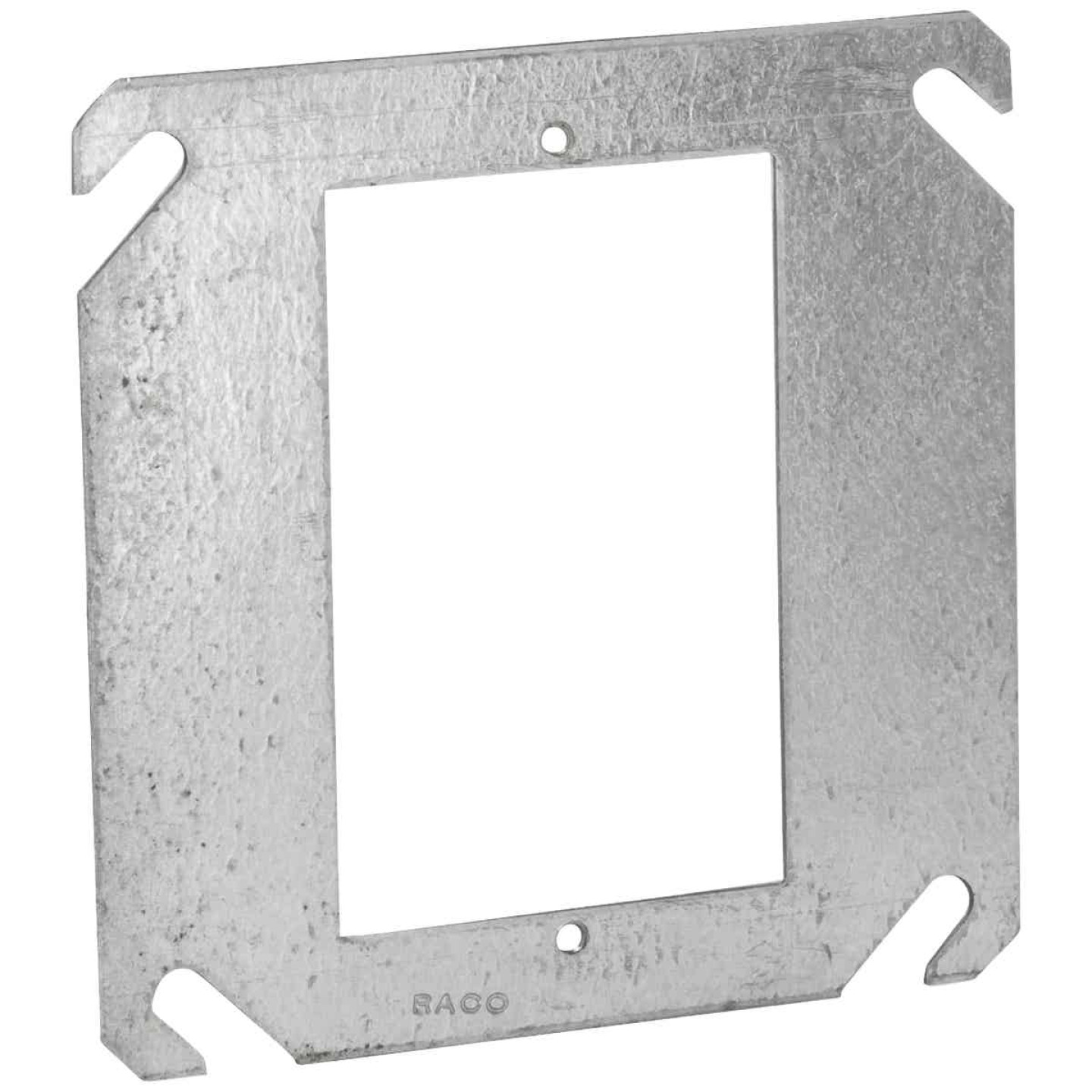 Raco Flat 1-Device Combination 4 In. x 4 In. Square Device Cover Image 1