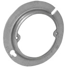 Raco 1/2 In. x 4 In. Open Round Steel Raised Cover Image 1