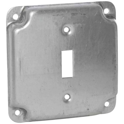 Raco 1-Toggle Switch 4 In. x 4 In. Square Device Cover