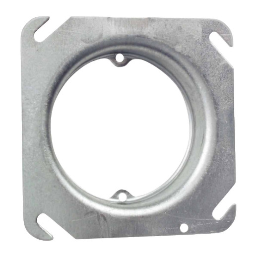 Steel City Open w/Ears 2-3/4 In. On-Center 4 In. x 4 In. Square Raised Cover