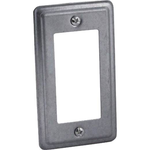 Hubbell GFCI or Decorator 4-3/16 In. x 2-5/16 In. Handy Box Cover