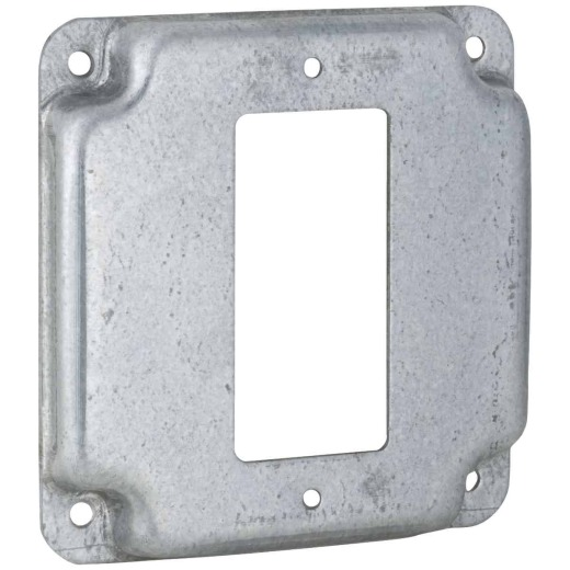 Raco GFI Outlet 4 In. x 4 In. Square Device Cover