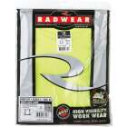 Radians Rad Wear ANSI Class 2 Hi Vis Green Safety T-Shirt XL Image 2