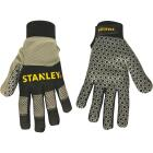 Stanley Men's Large Synthetic Leather Silicone Grip High Performance Glove Image 1