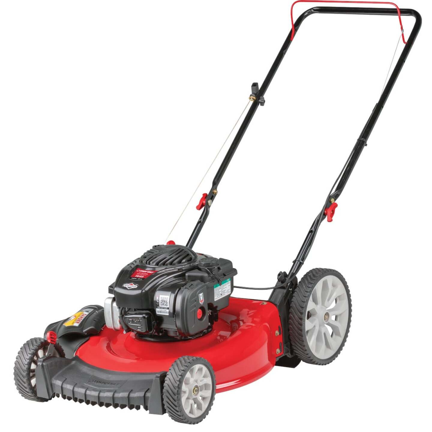 Troy-Bilt TB105 21 In. 140cc High Wheel Push Gas Lawn Mower Image 1