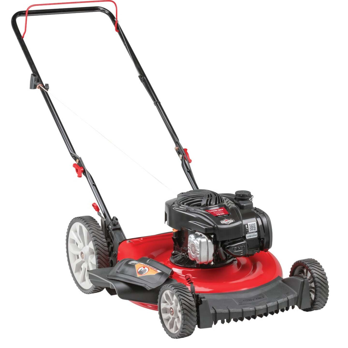 Troy-Bilt TB105 21 In. 140cc High Wheel Push Gas Lawn Mower Image 2