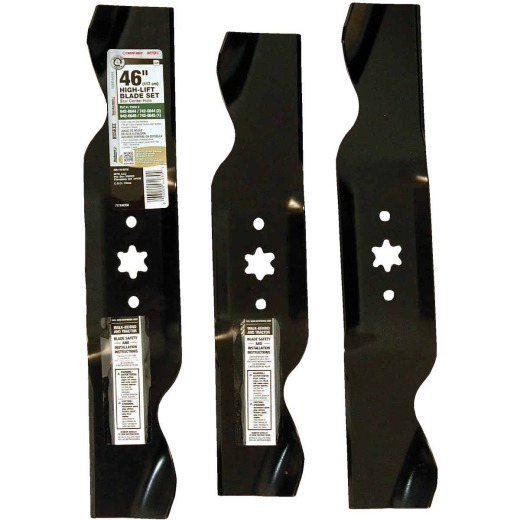 Arnold MTD 14-7/8 In. & 16-9/32 In. Tractor Mower Blade Set