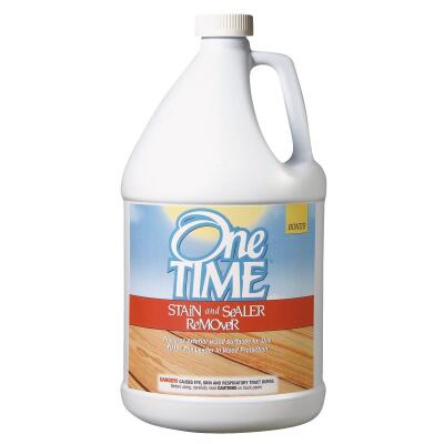 One TIME 1 Gal. Exterior Stain & Paint Remover & Sealer