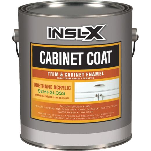 Insl-X 1 Gal. White Semi-Gloss Satin Cabinet Coating