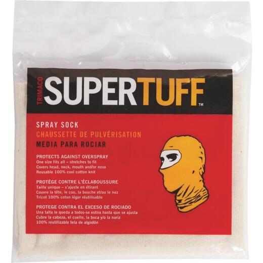 Trimaco SuperTuff 1 Size Fits Most Natural Cotton Painter's Spray Head Protection
