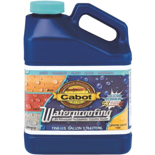 Cabot Clear Silicone Waterproofing Sealer, 1 Gal.