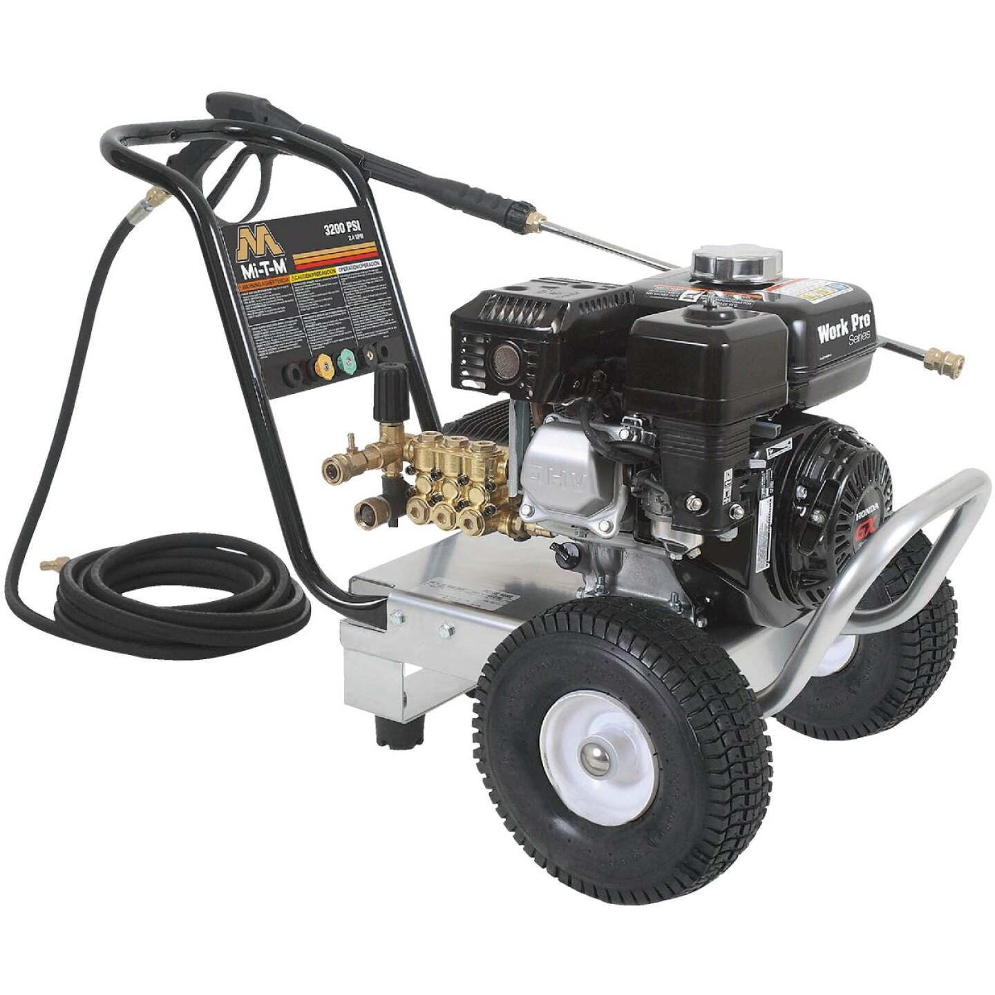 Mi-T-M Work Pro 3200 psi 2.4 GPM Cold Water Gas Pressure Washer Image 1