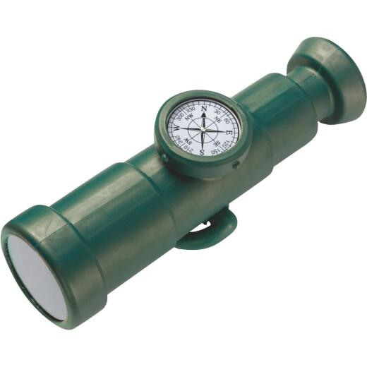 Swing N Slide Green Plastic Playground Telescope with Compass